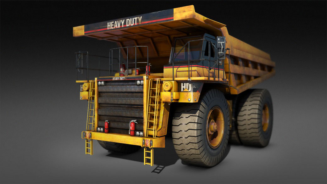 Transforming Robot Production Pipeline Volume 3: Truck Texturing