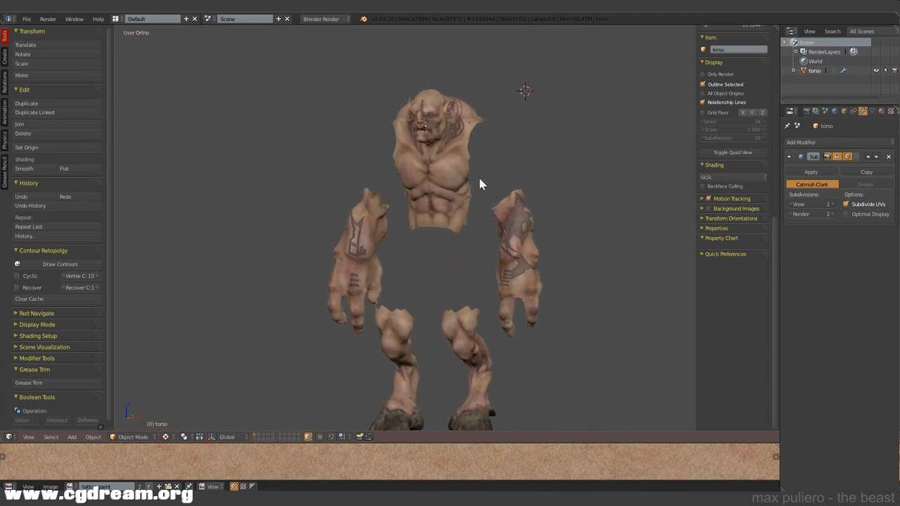 (4 -The Beast- Texturing in Blender and Photoshop 4_4.mp4)[02.09.55.700].jpg