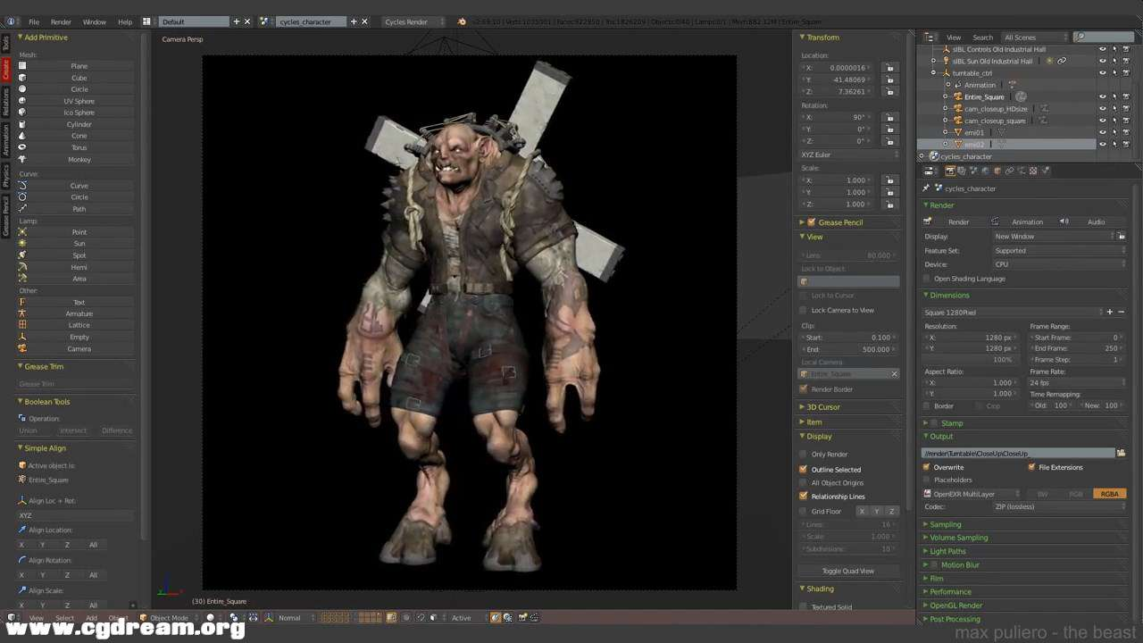 (4 -The Beast- Texturing in Blender and Photoshop 4_4.mp4)[02.10.11.733].jpg
