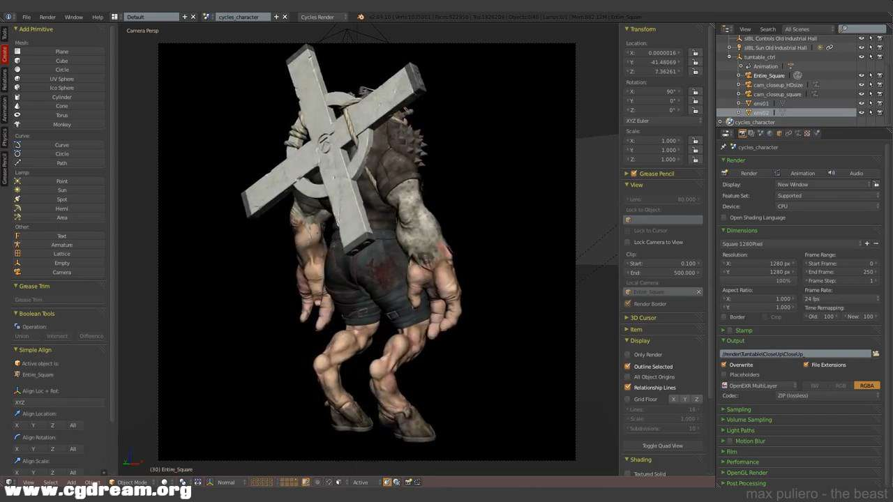 (4 -The Beast- Texturing in Blender and Photoshop 4_4.mp4)[02.10.15.433].jpg
