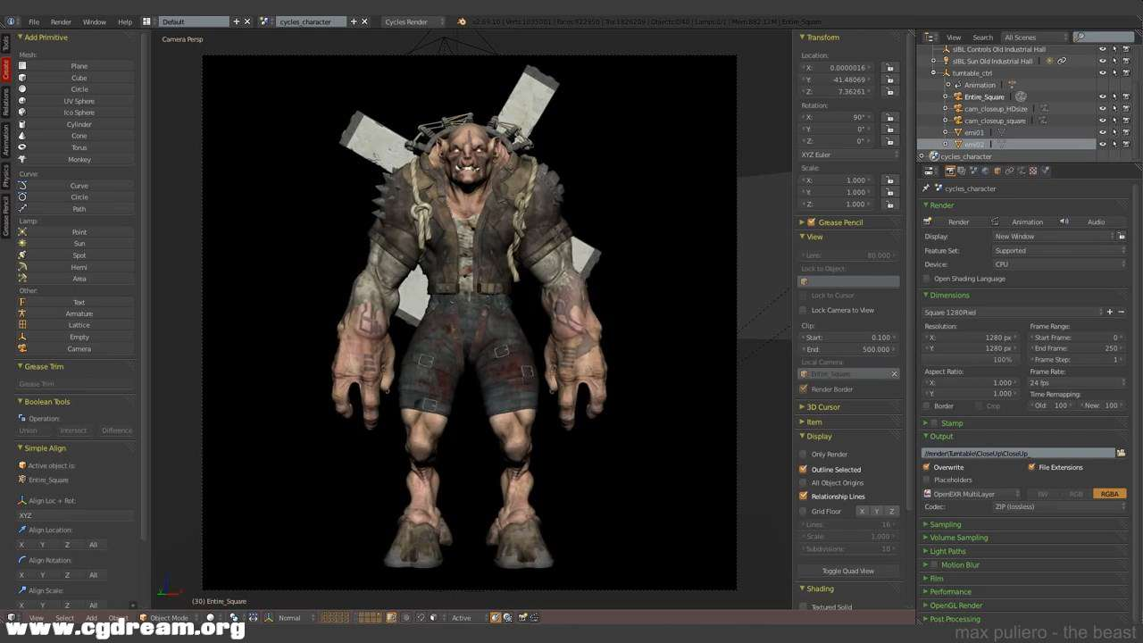 (4 -The Beast- Texturing in Blender and Photoshop 4_4.mp4)[02.10.29.200].jpg