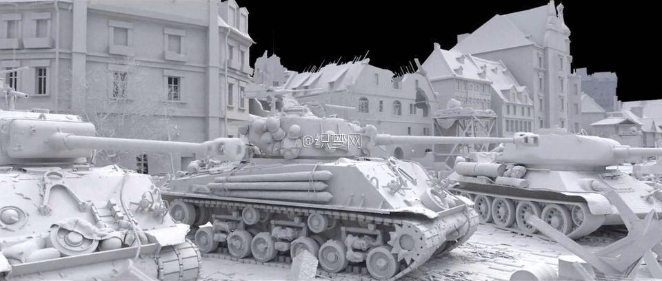 《坦克世界》游戏宣传片特效制作解析 1