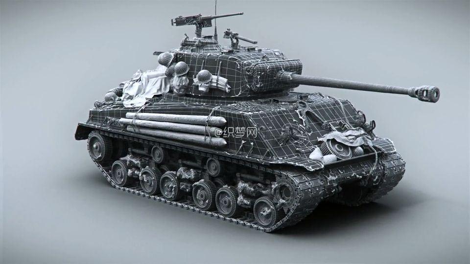 《坦克世界》游戏宣传片特效制作解析 2