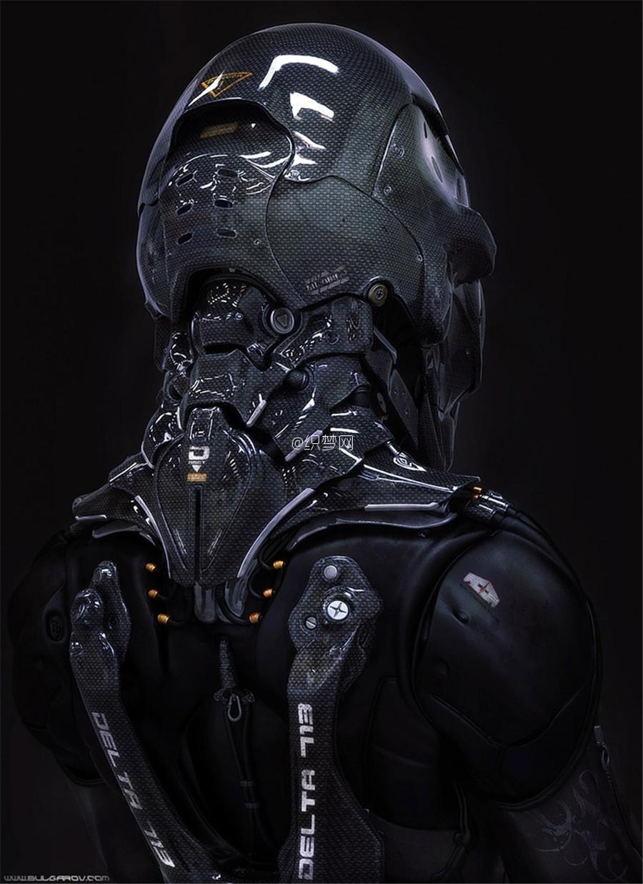 作品鉴赏 机械类科幻类设计参考 CG原画免费下载图片