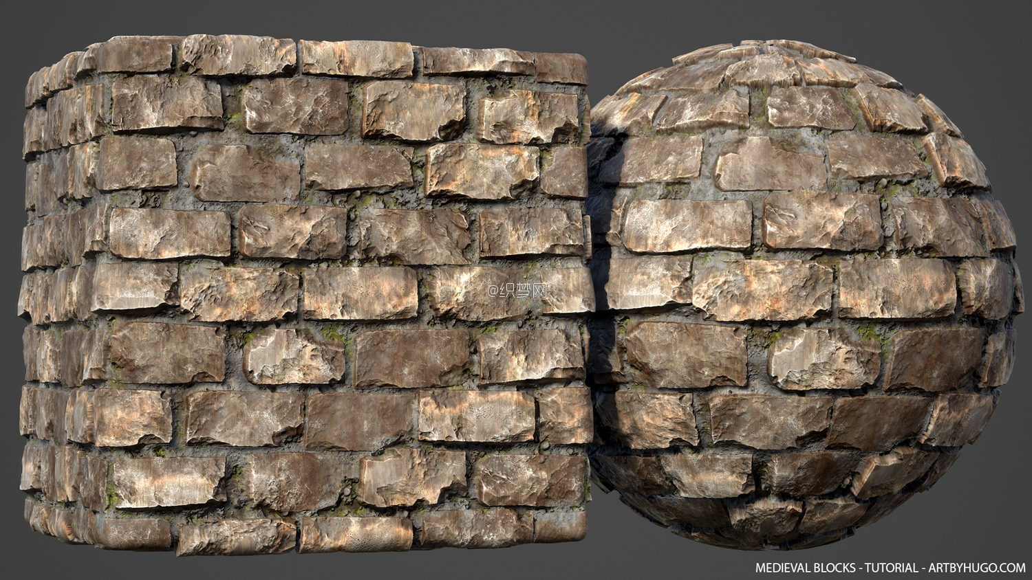 Medieval Blocks - Substance Designer - Tutorial - Tileable Material