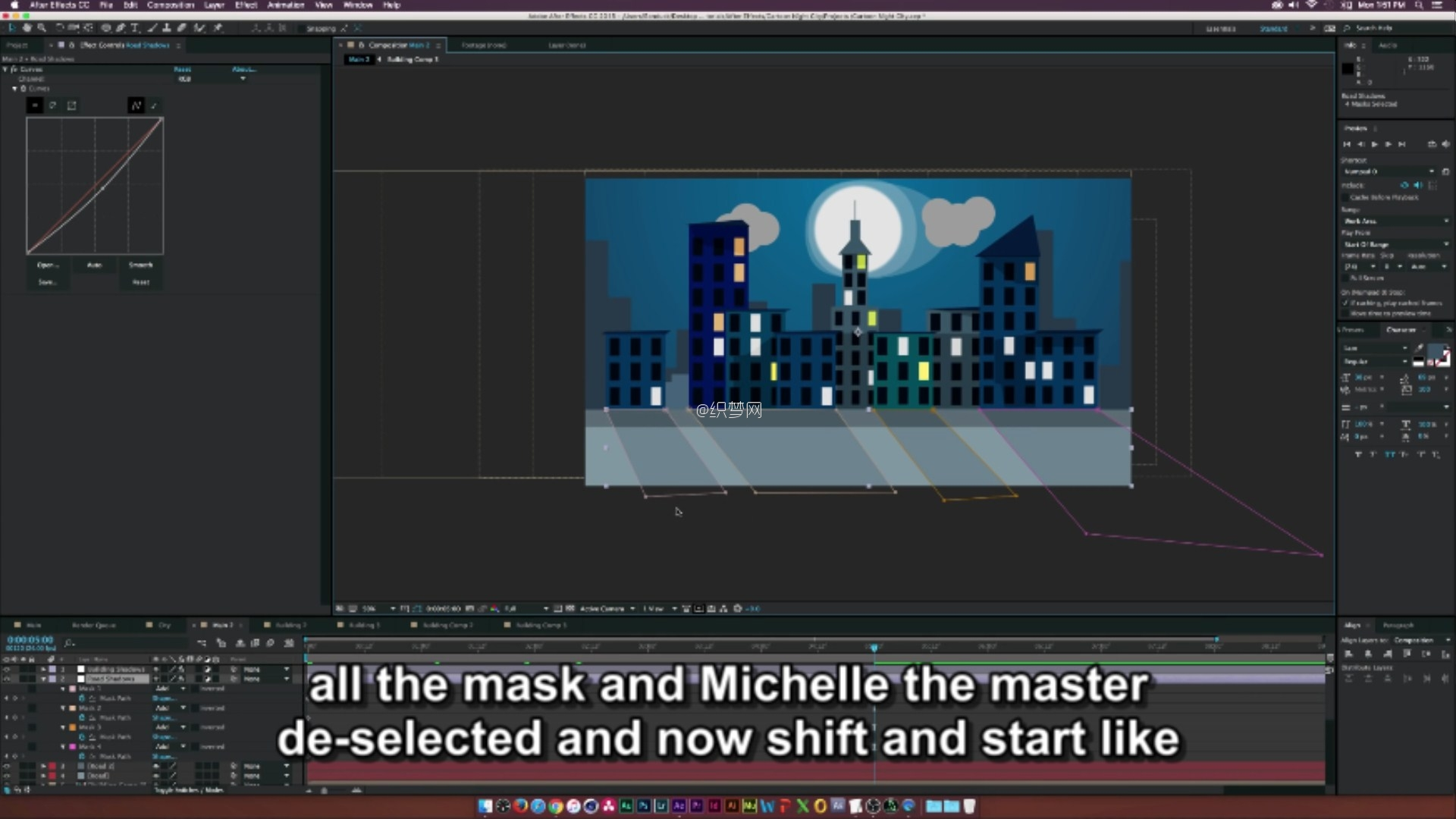 (After Effects Tutorial- Cartoon Animation Night City.mp4)[00.25.10.966].jpg