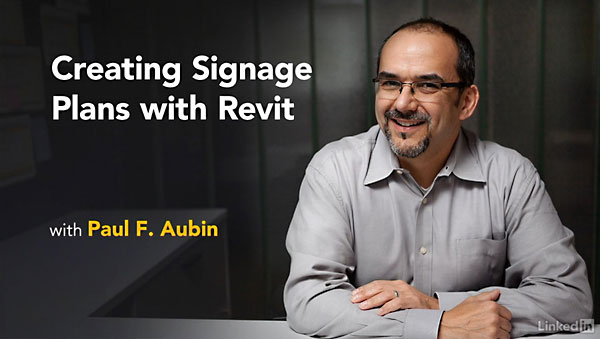 Lynda - Revit: Create Signage Plans