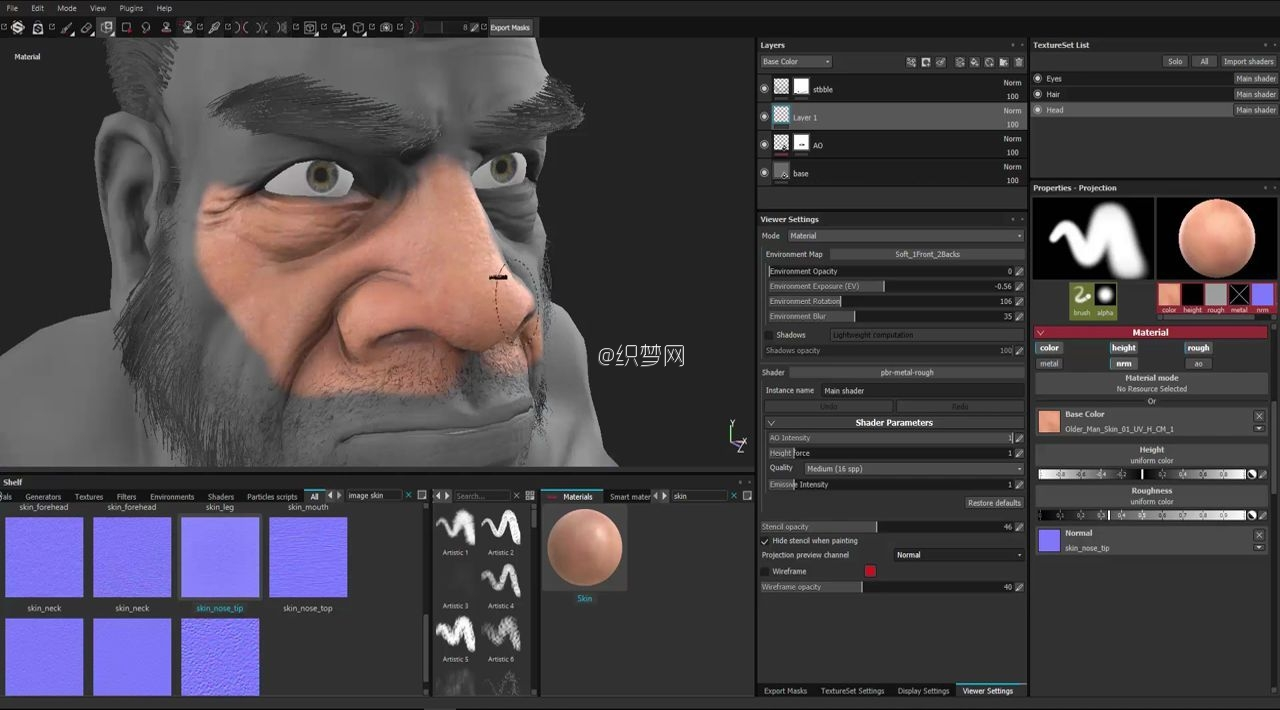 贴图绘制神器Substance Painter 2.2新功能教程 - Substance Painter 2.2