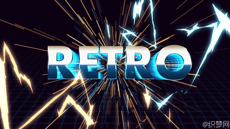 AE制作复古文字特效教程 - Make an amazing retro title in After Effects