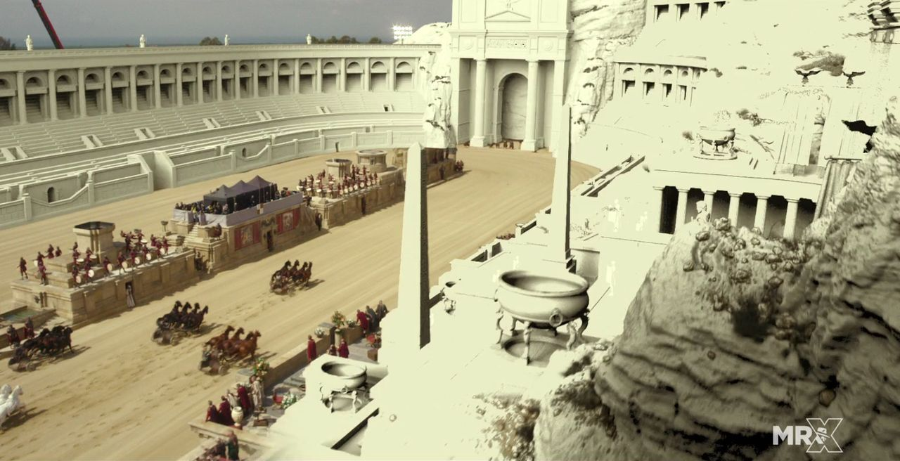 电影《宾虚 Ben-Hur》特效制作解析 - The Making of Ben-Hur