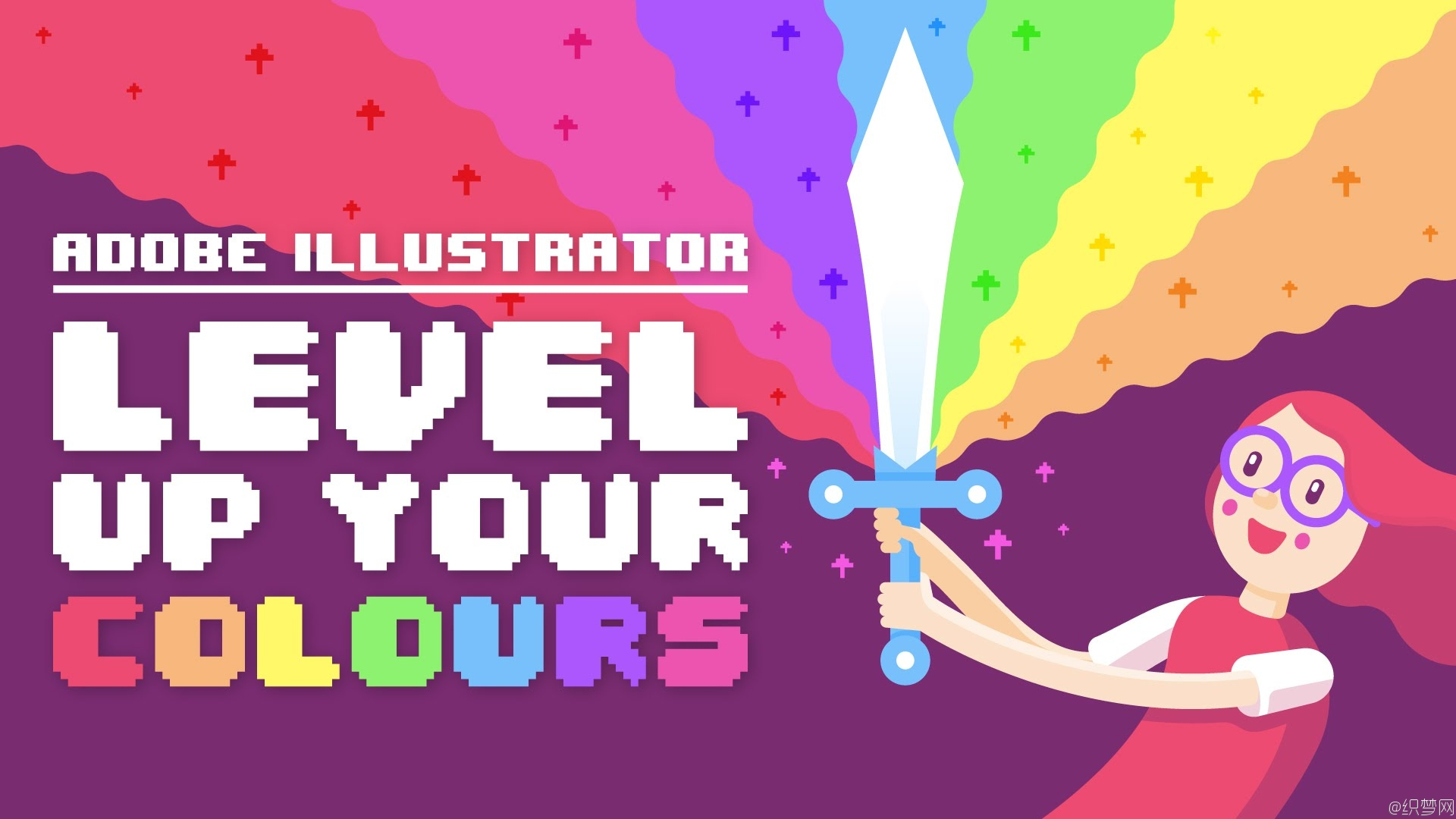 提高你的颜色搭配水平教程 - Adobe Illustrator: Level Up Your Colours