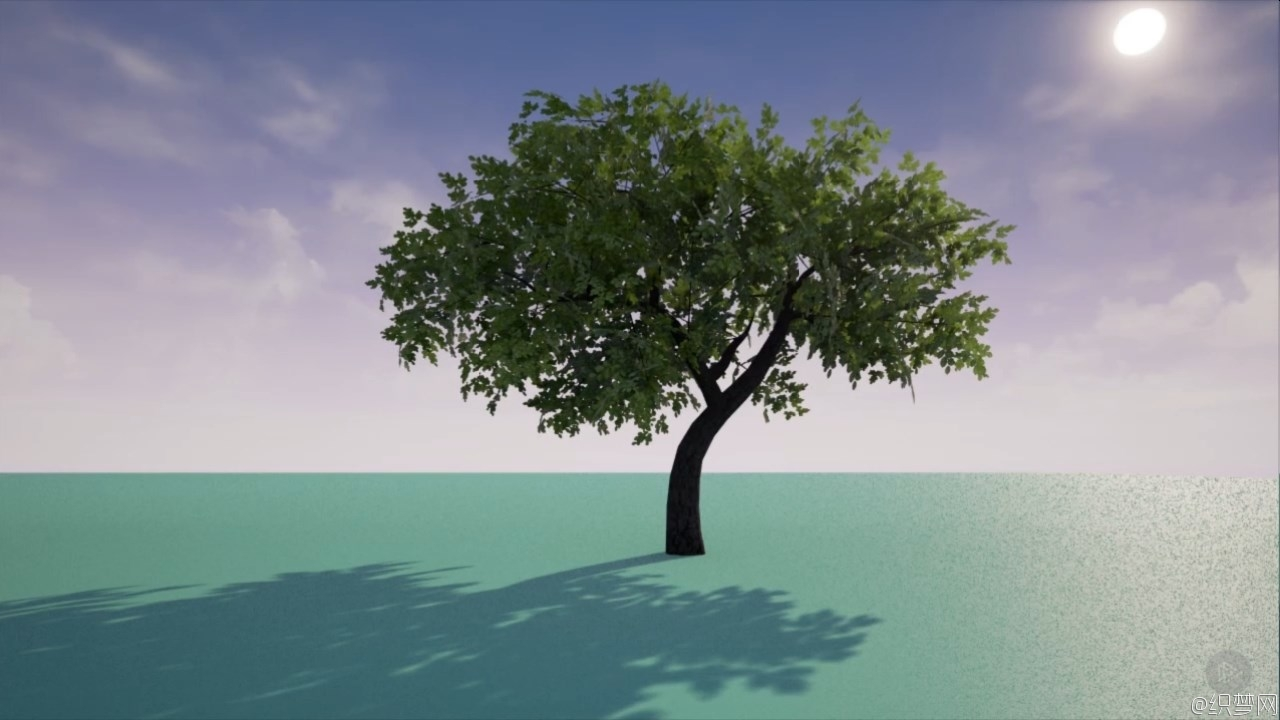 3ds Max低模多边形树模型制作教程 - Creating Low Poly Trees in 3ds Max