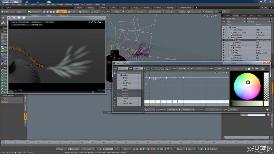 MODO离子特效视频教程 - Introduction to MODO Particles - The Foundry