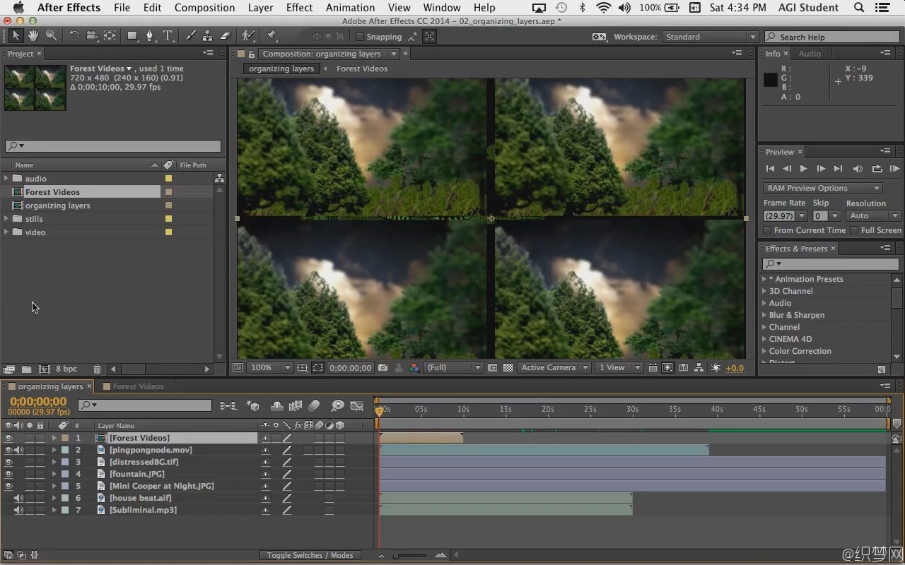 全面深入学习After Effects CC视频教程 – After Effects CC InDepth Part 1 - 3