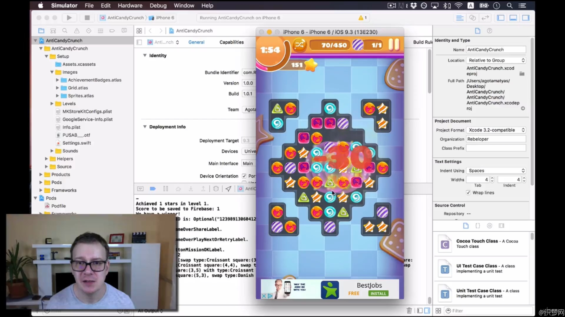 iOS游戏开发者指南 - DIY iOS Games - A Developer Guide - Anti Candy Crunch