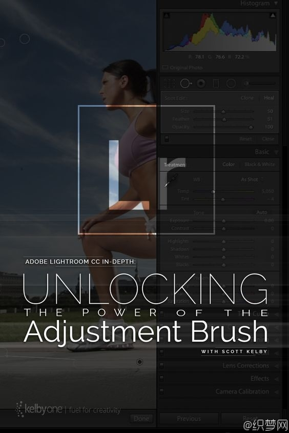 Lightroom CC深度教程之笔刷的力量 - Unlocking the Power of the Adjustment Brush
