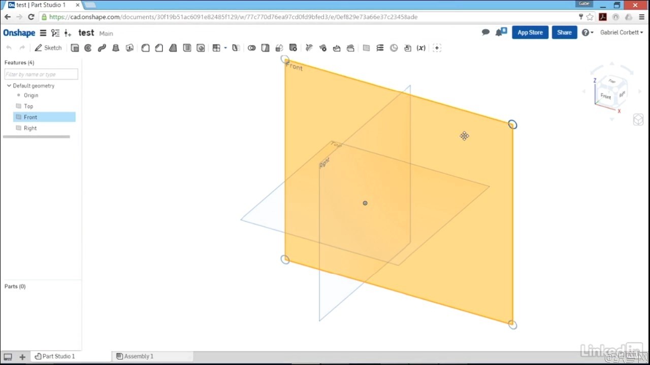 Onshape����Ƶ�̳� - Learn Onshape��The Basics - Lynda