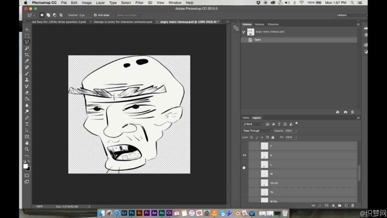 动态漫画制作教程第二部分 - Create A Motion Comic Pt 2:Adobe Character Animator