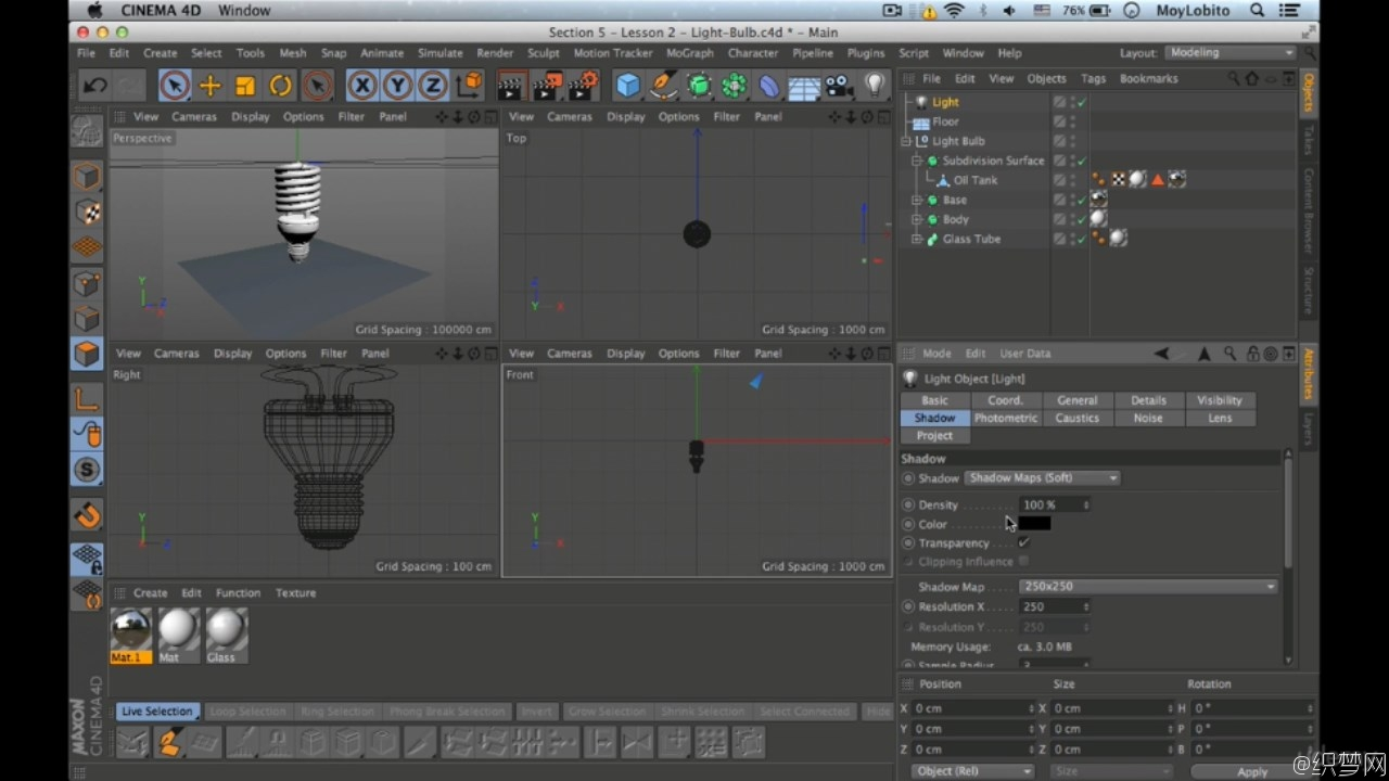 Cinema 4D项目实战视频教程 - Cinema 4D from Scratch: Project Based Cinema 4D