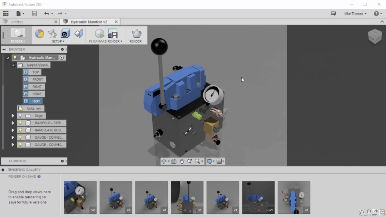 Fusion 360机械组件设计视频教程 - Component Design with Autodesk Fusion 360