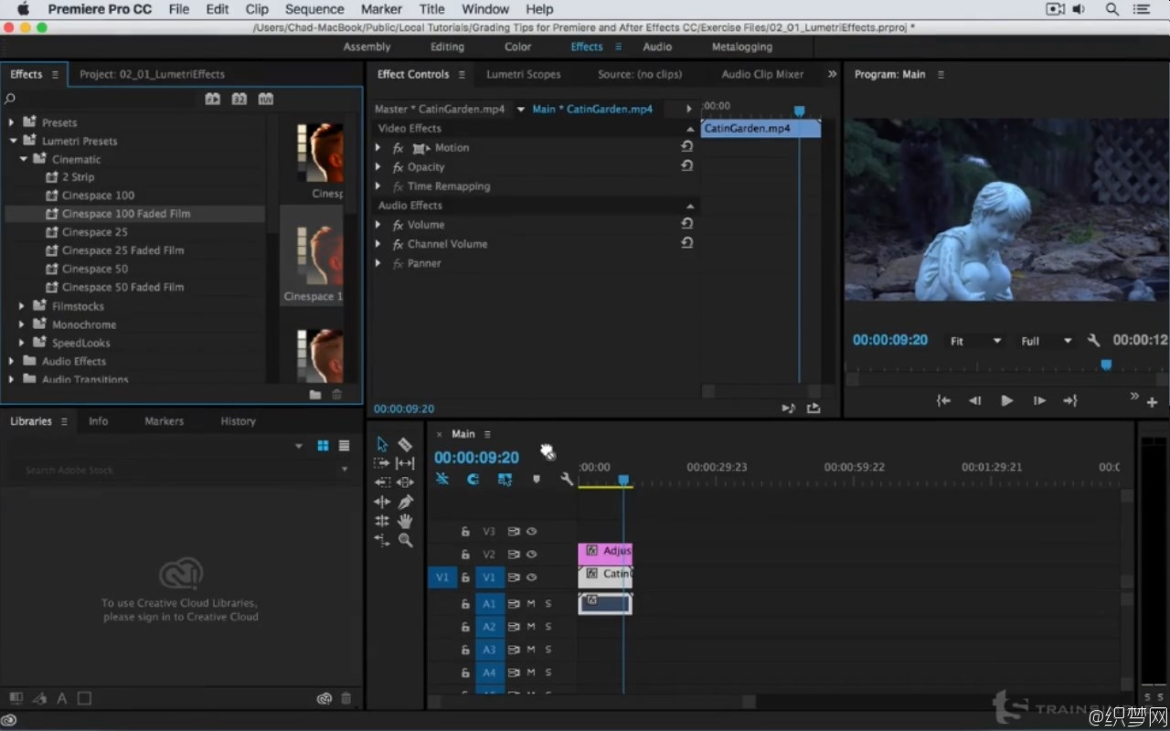 Premiere Pro和After Effects CC颜色校正视频教程 - Adobe CC Color Grading Tips