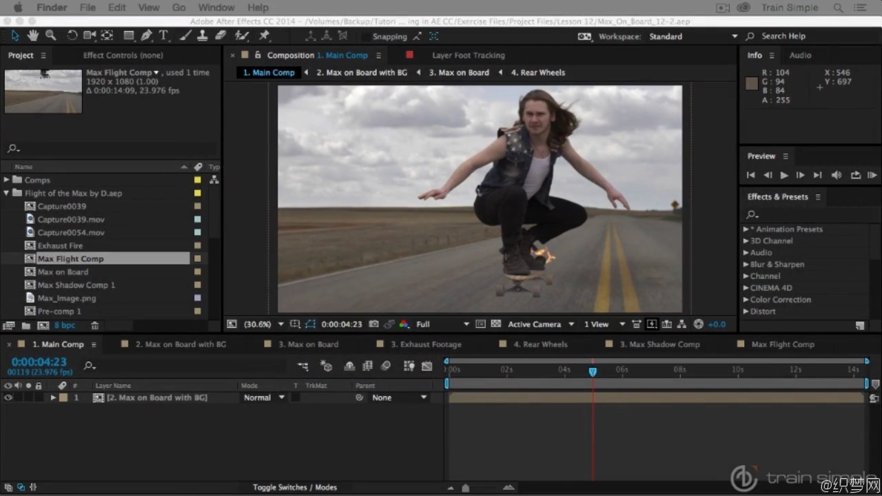 After Effects CC合成视频教程 - After Effects CC Compositing