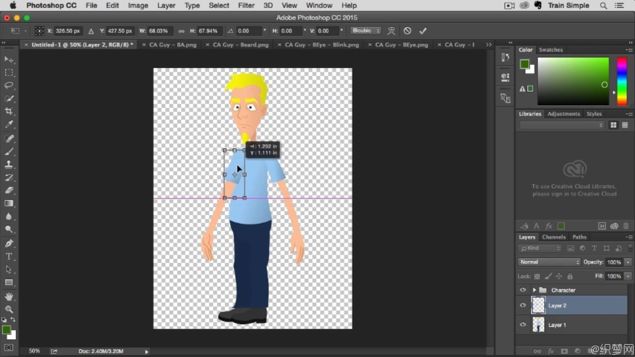 After Effects CC角色动画视频教程 - After Effects CC Character Animator