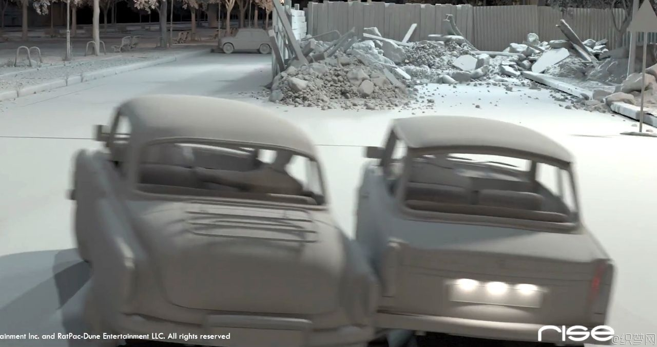 电影秘密特工特效制作解析 - The Man from U.N.C.L.E. Vfx Breakdown