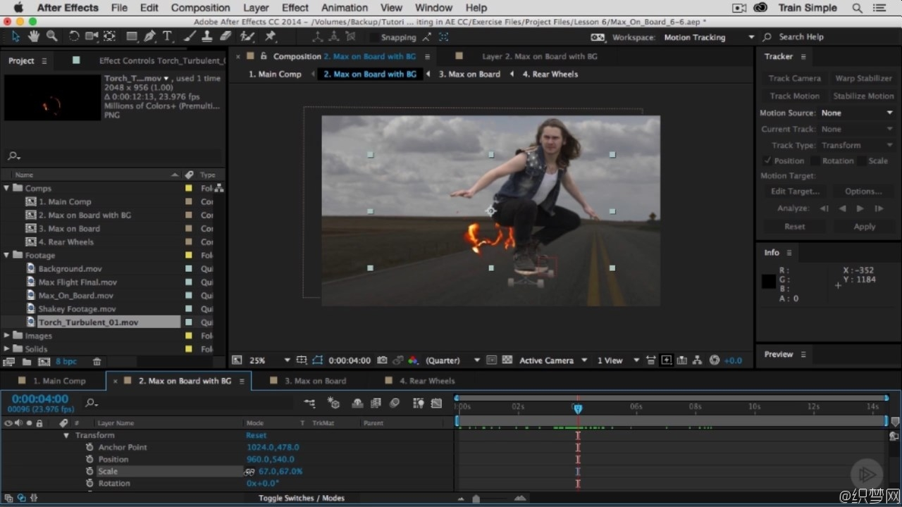 全面学习After Effects CC合成视频教程 - After Effects CC Compositing