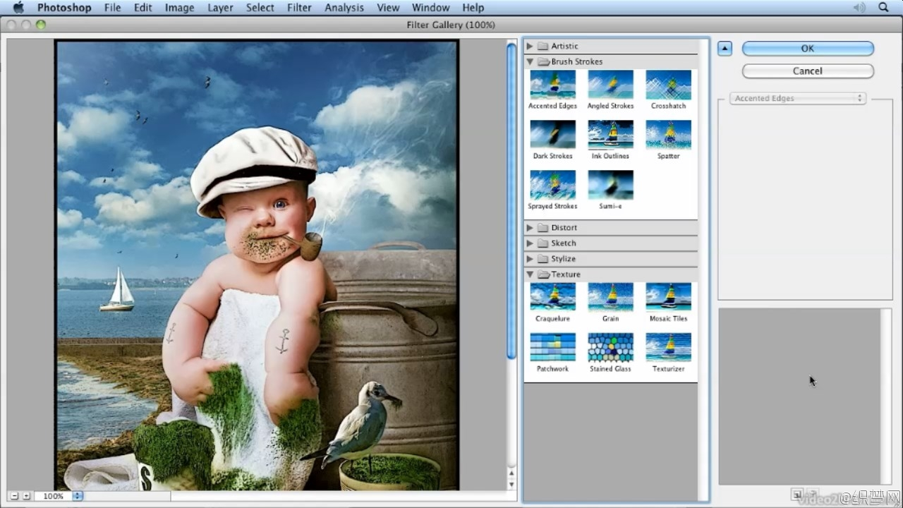 掌握Photoshop滤镜使用视频教程 - Mastering Adobe Photoshop Filters