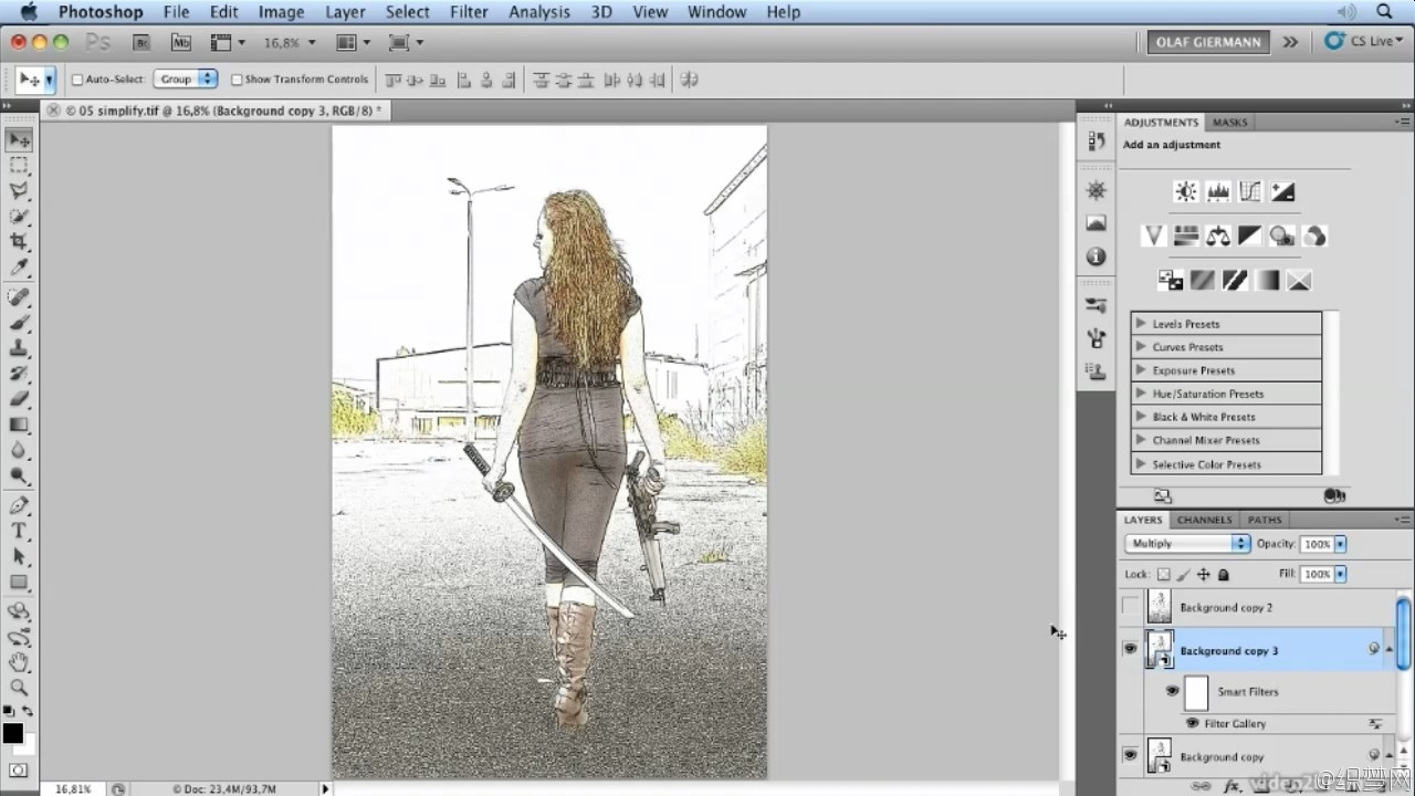 ����Photoshop�˾�ʹ����Ƶ�̳� - Mastering Adobe Photoshop Filters