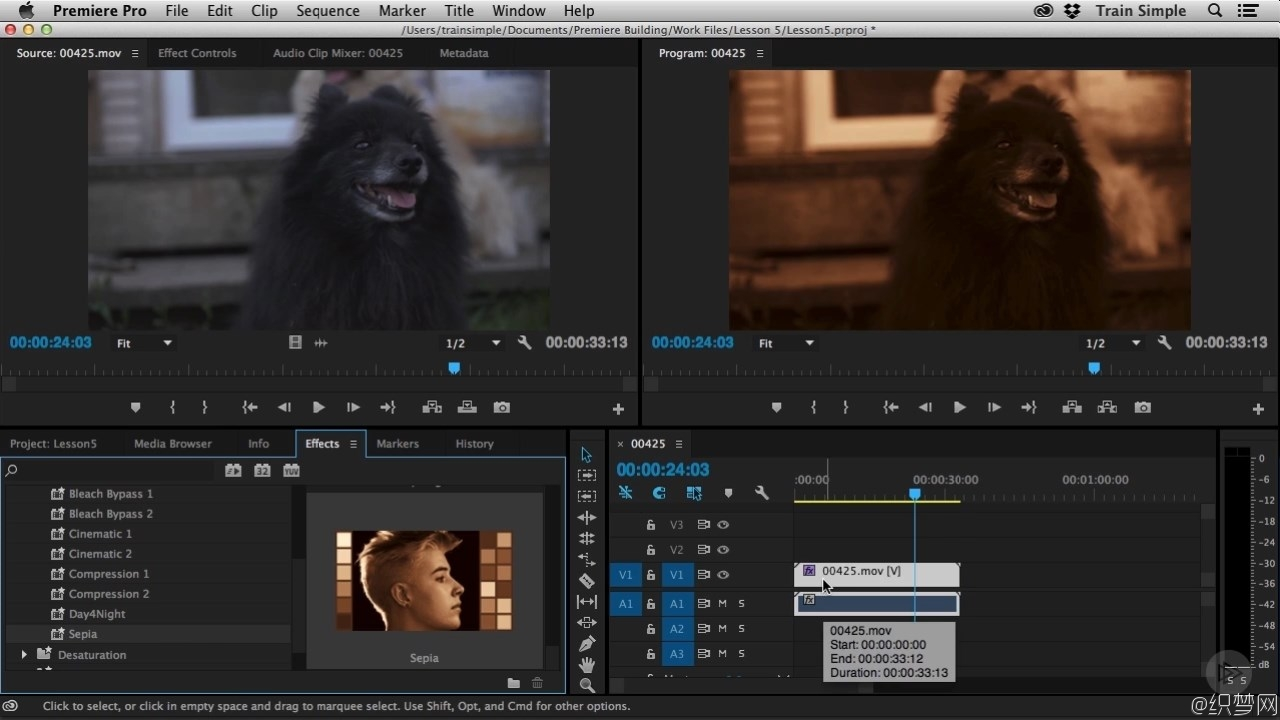 Premiere Pro CC基础知识视频教程 - Premiere Pro CC Building on the Fundamentals