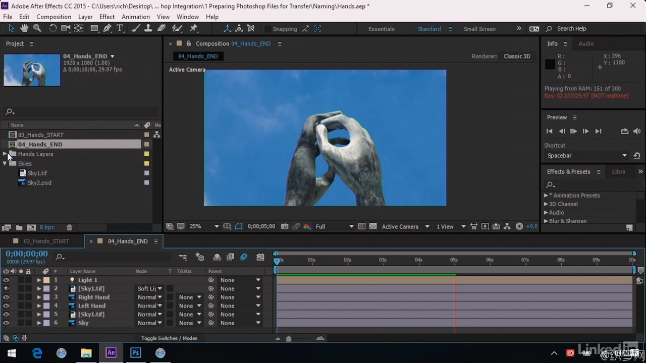 AE与PS高级功能集成视频教程 - After Effects Guru:Advanced Photoshop Integration