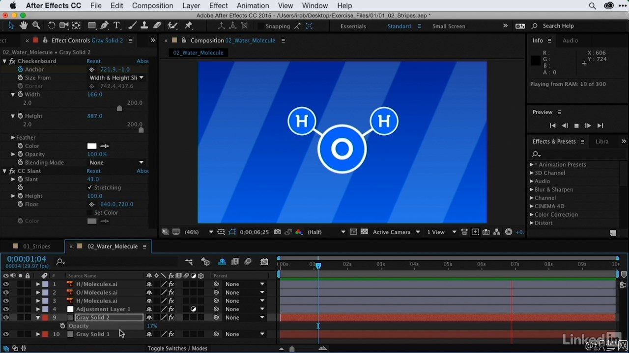 After Effects闪电效果制作视频教程 - After Effects Guru: Using Generator Effects