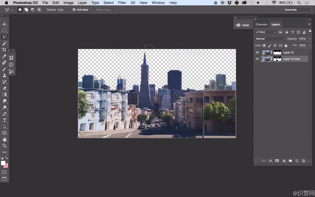 Photoshop数字绘画入门视频教程 - Digital Matte Painting for Beginners