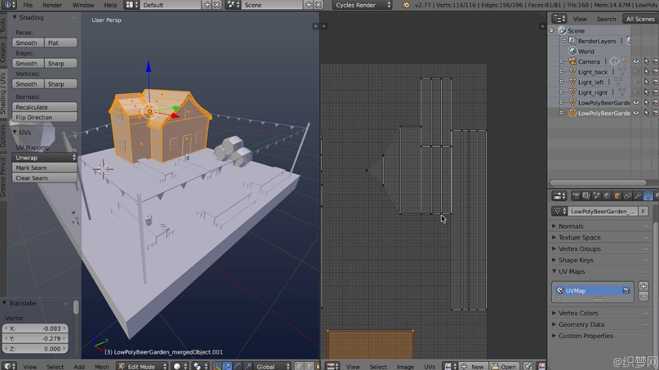 Blender展UV技术视频教程 - UV Mapping in Blender Volume 1 - 3DMotive