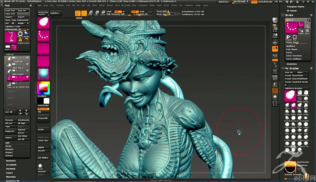 ZBrush雕刻珠宝工艺视频教程 - 2016年ZBrush官方峰会 - Official ZBrush Summit