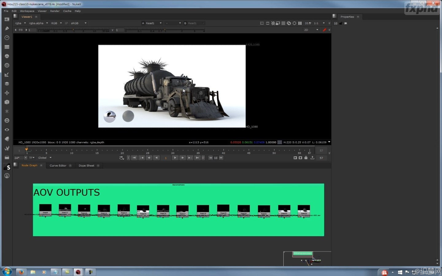 RenderMan爆炸烟火特效动作序列渲染教程 - VFX304 Explosive Pyro Action Sequences