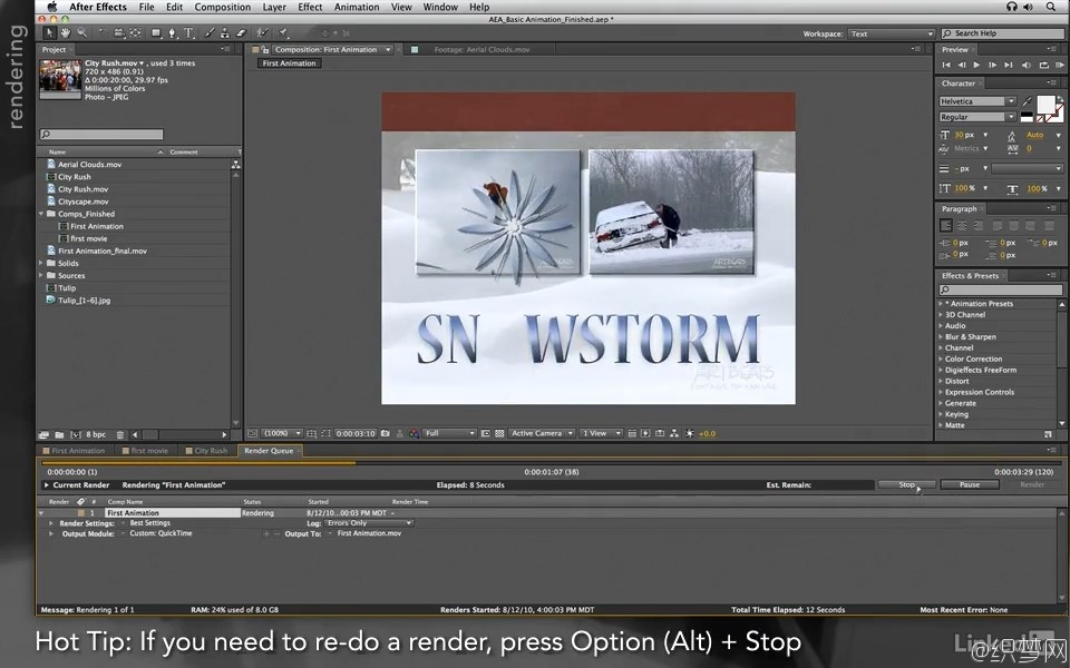 After Effects学徒系列教程01 -  前卷 - After Effects Apprentice 01 Pre-Roll