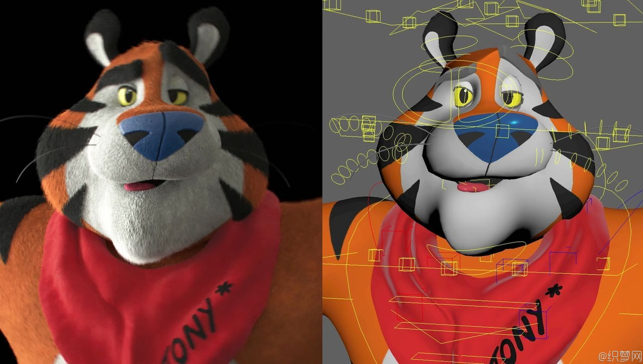 Frosted Flakes燕麦片广告特效制作解析 - Frosted Flakes Vfx Breakdown 4