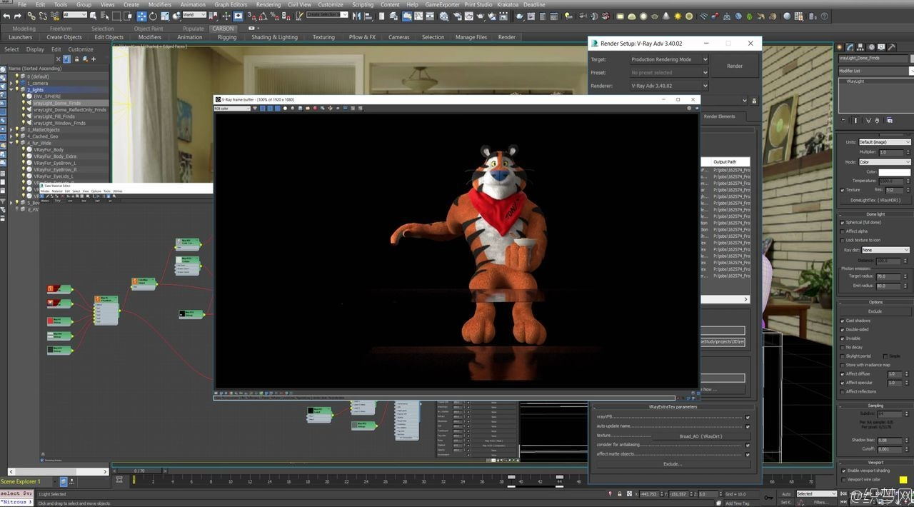 Frosted Flakes燕麦片广告特效制作解析 - Frosted Flakes Vfx Breakdown 6