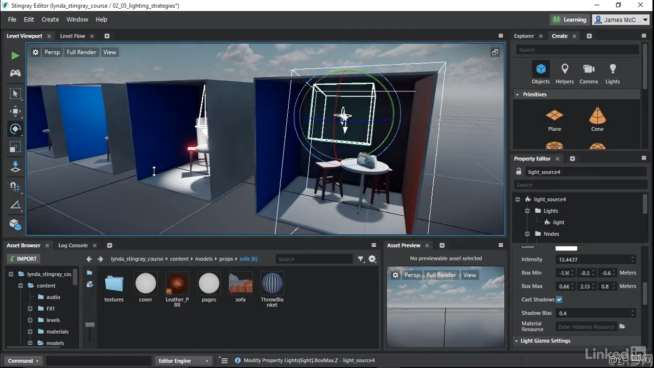 Autodesk3D游戏引擎Stingray视频教程 - Learn Autodesk Stingray