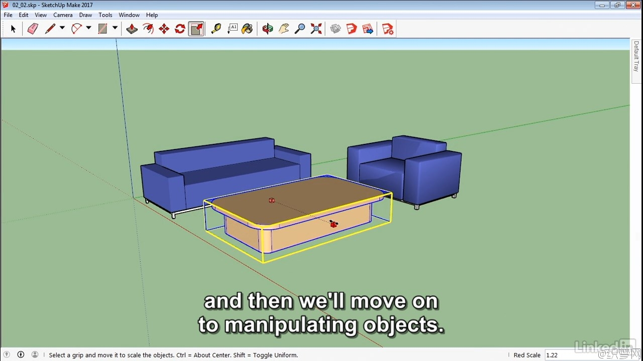 SketchUp 2017基础学习视频教程 - SketchUp 2017 Essential Training 2
