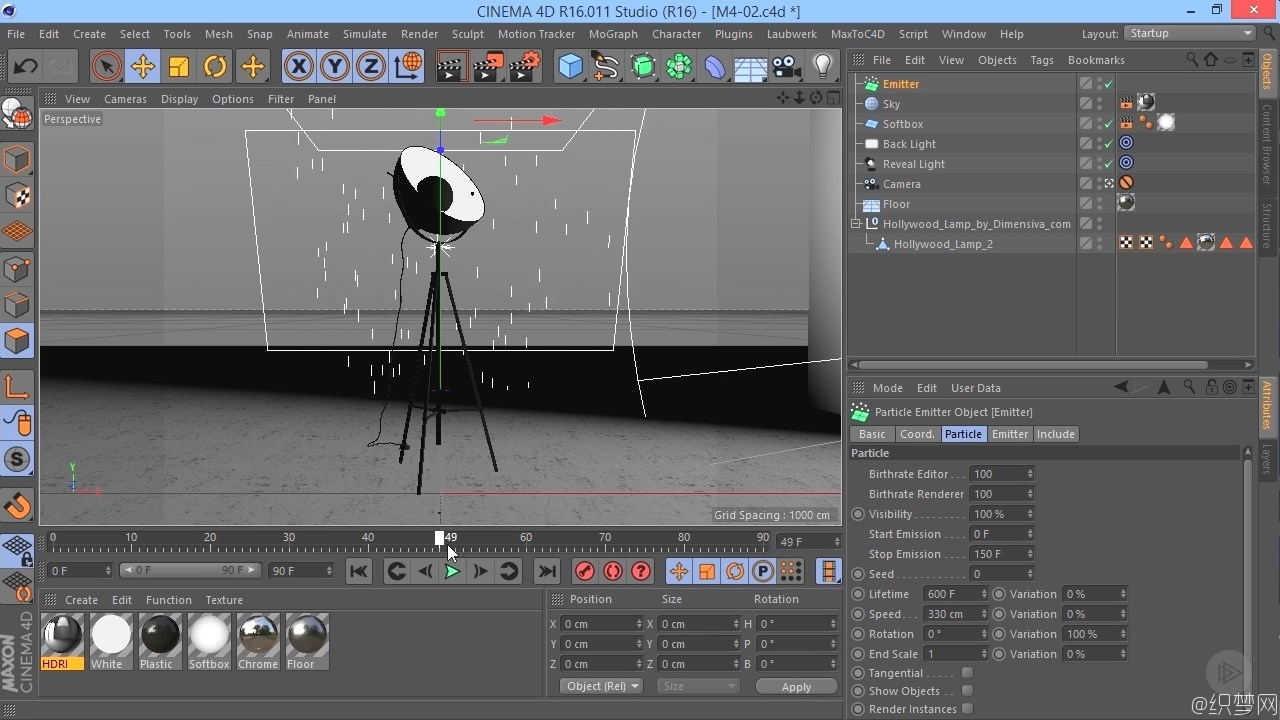 Cinema 4D高分辨率产品渲染视频教程 - High-resolution Product Rendering in CINEMA 4D - Pluralsight