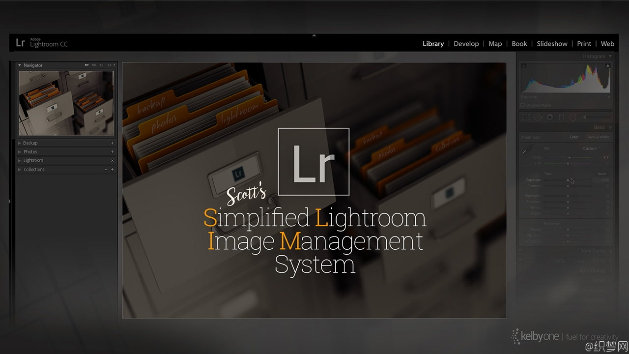 简化Lightroom图像管理系统视频教程 - Simplified Lightroom Image Management System - KelbyOne