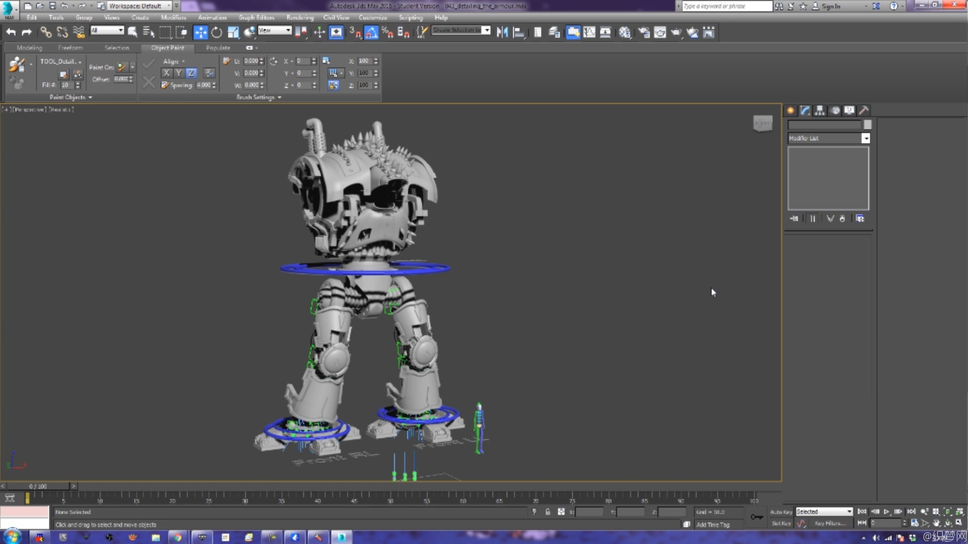 3ds Max高精度机器人模型及绑定视频教程 - The Templar Assault Mech – Imperial Knight Tutorial for 3ds ...