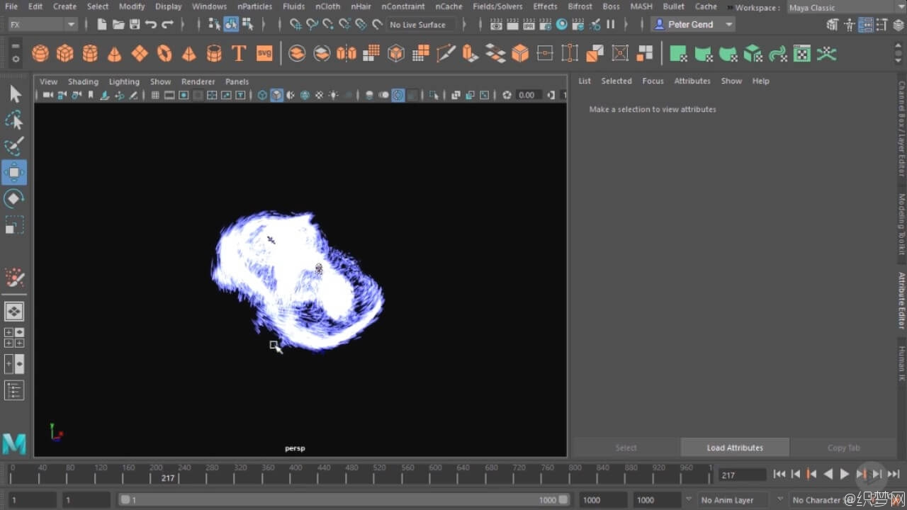 Maya 2017粒子特效视频教程 - Maya nParticle Fundamentals in Maya 2017 2