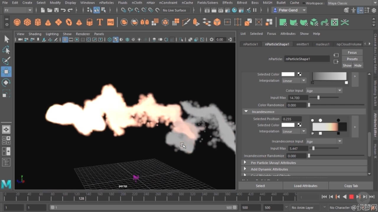 Maya 2017粒子特效视频教程 - Maya nParticle Fundamentals in Maya 2017 4