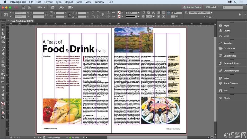 InDesign排版编辑视频教程 - InDesign for Editors
