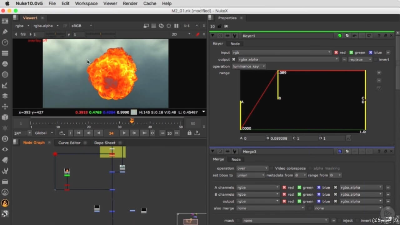 NUKE景深合成项目工作流程教程 – NUKE's Deep Compositing Project Workflow
